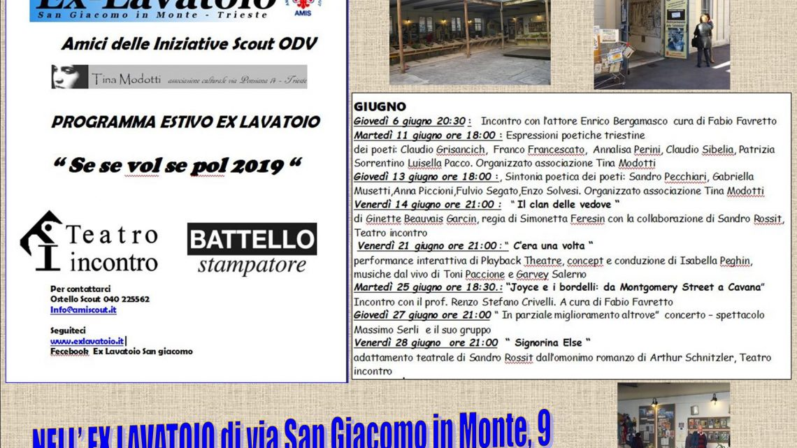 LAVATOIO SAN GIACOMO Calendario eventi in corso